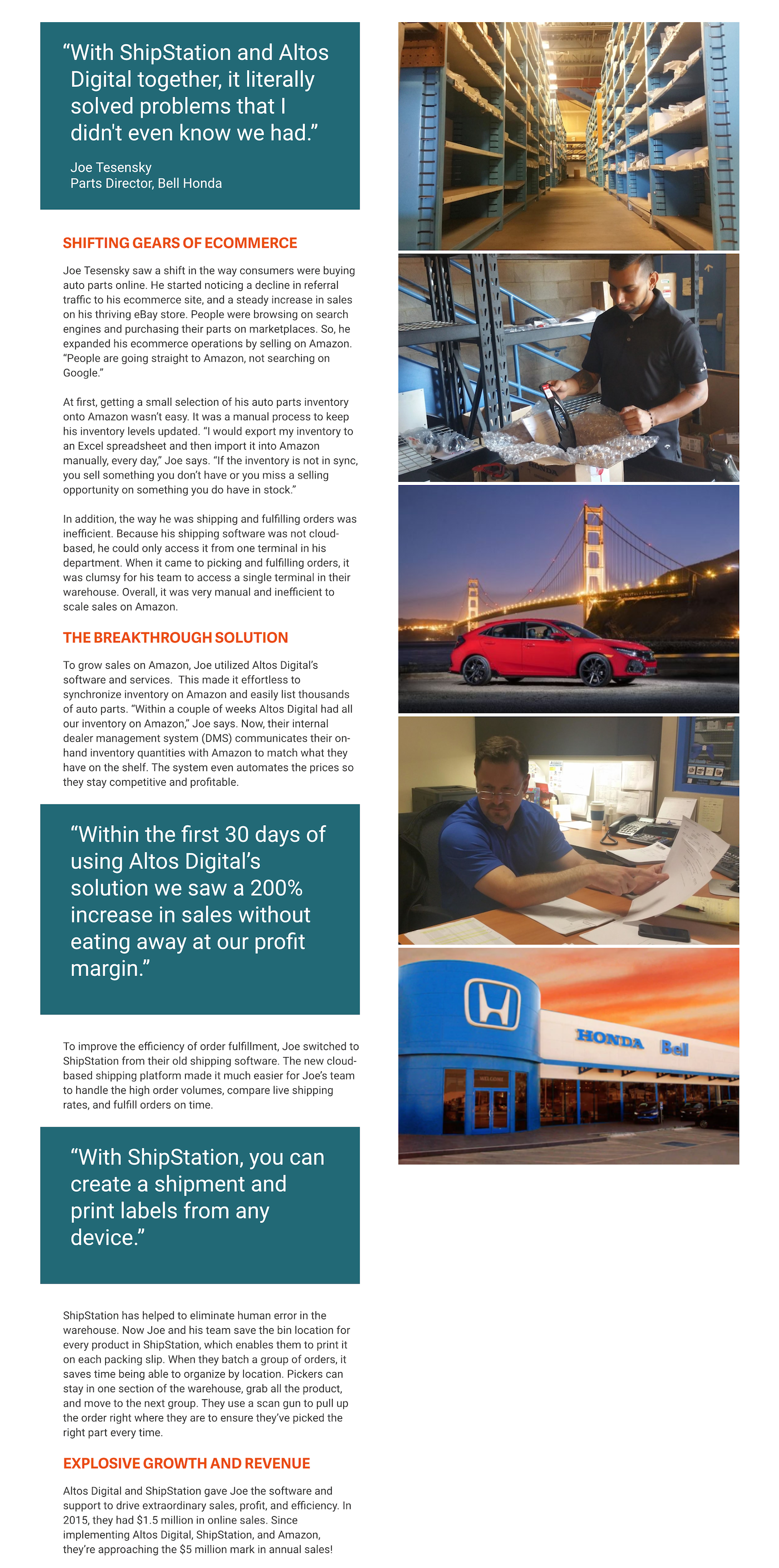 Bell Honda Case Study