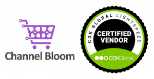 Channel Bloom is a Certified Vendor of CDK Global Lightspeed
